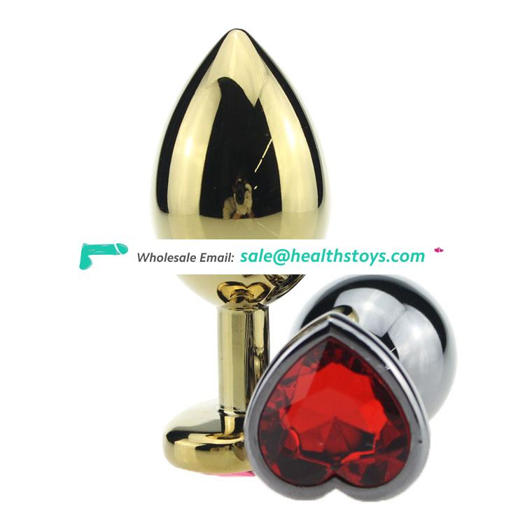 2019 Hot Sales adult metal anal plug for gay butt plug anal sexy toys