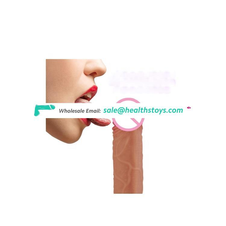Large size  G Spot Rabbit Vibrator Waterproof Realistic silicone women electric sex toy dildo penis