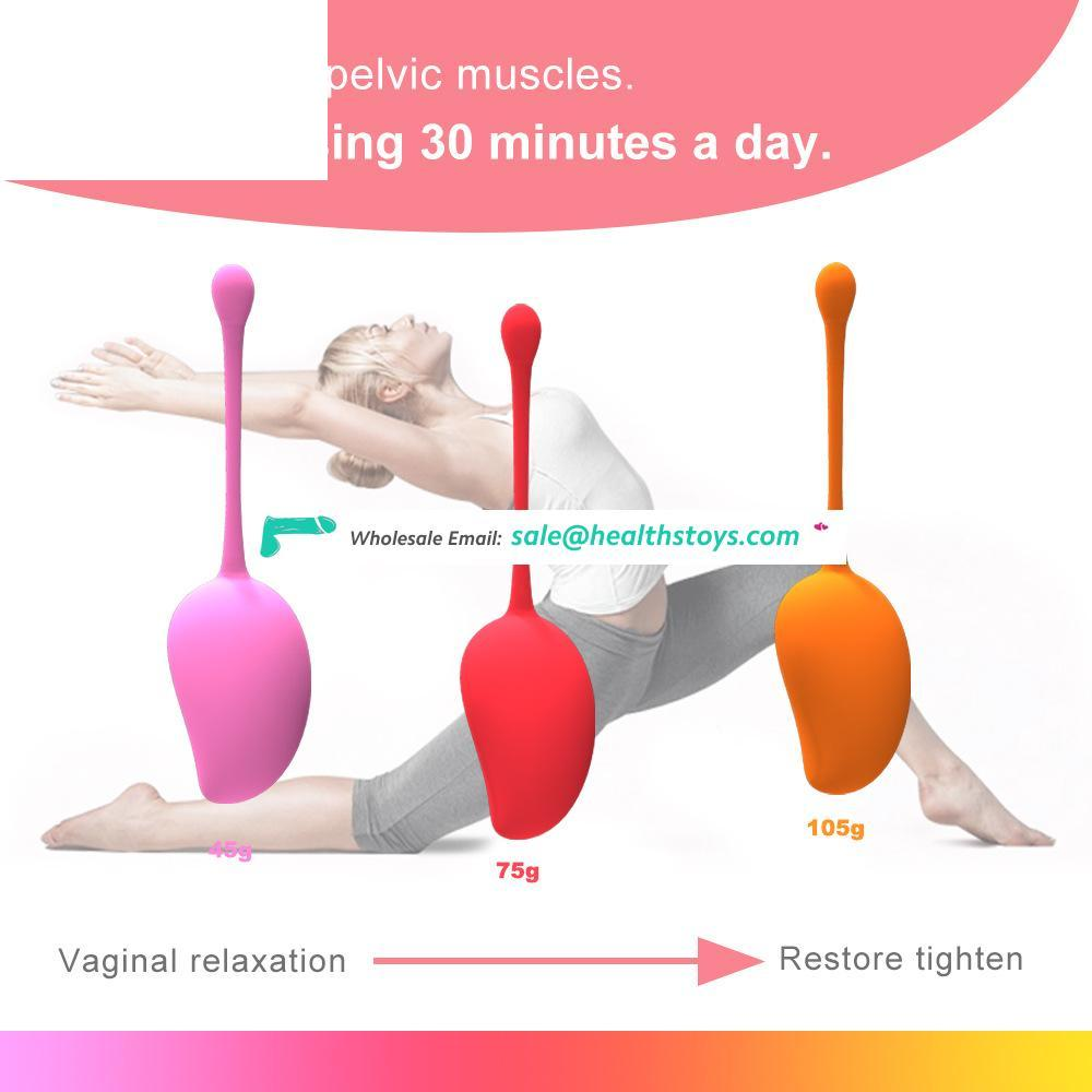 New full-encapsulated gelatin Kegel physical shrinkage vaginal dumbbell for adult sex products