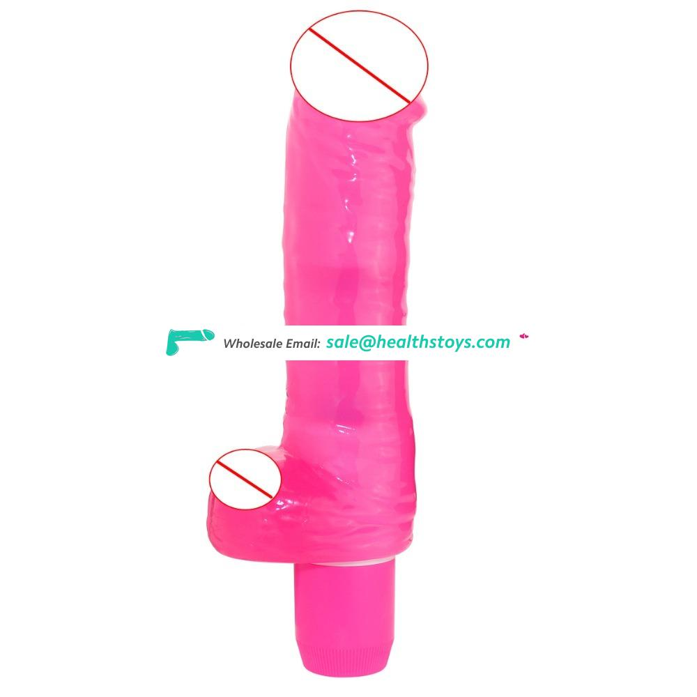 Oriental Tough Guy For Vagina Orgasm Anal Massage Vibrating Unisex Wand Rechargeable Soft Dildo