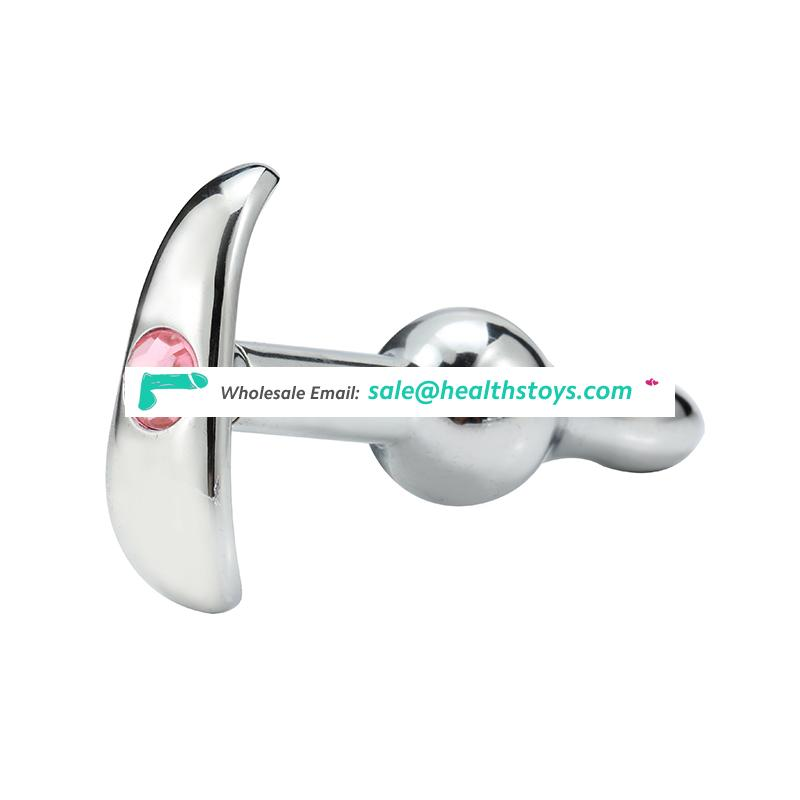 Stainless Steel Male Anal Butt Sex Toy Plug for Masturbator