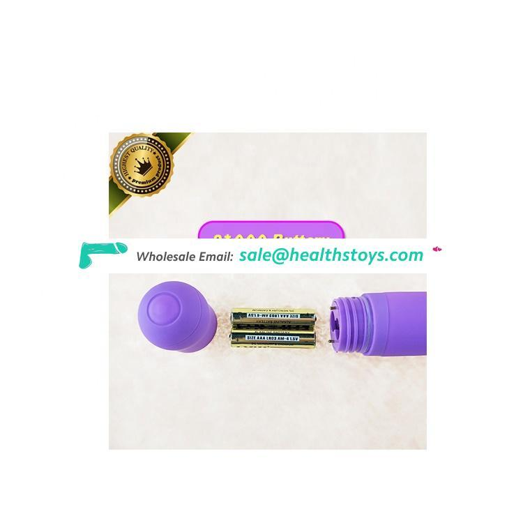 Wholesale High quality noiseless silicone magic wand massager free dildos and vibrators