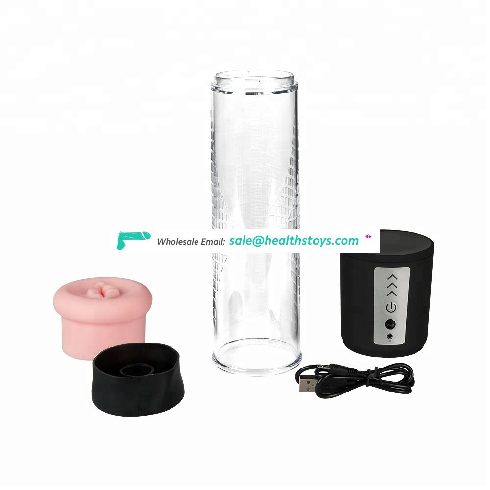 12 Years Factory Hot Sale Men Sex Toys Automatic Enlarger Electric Penis Pump For Male