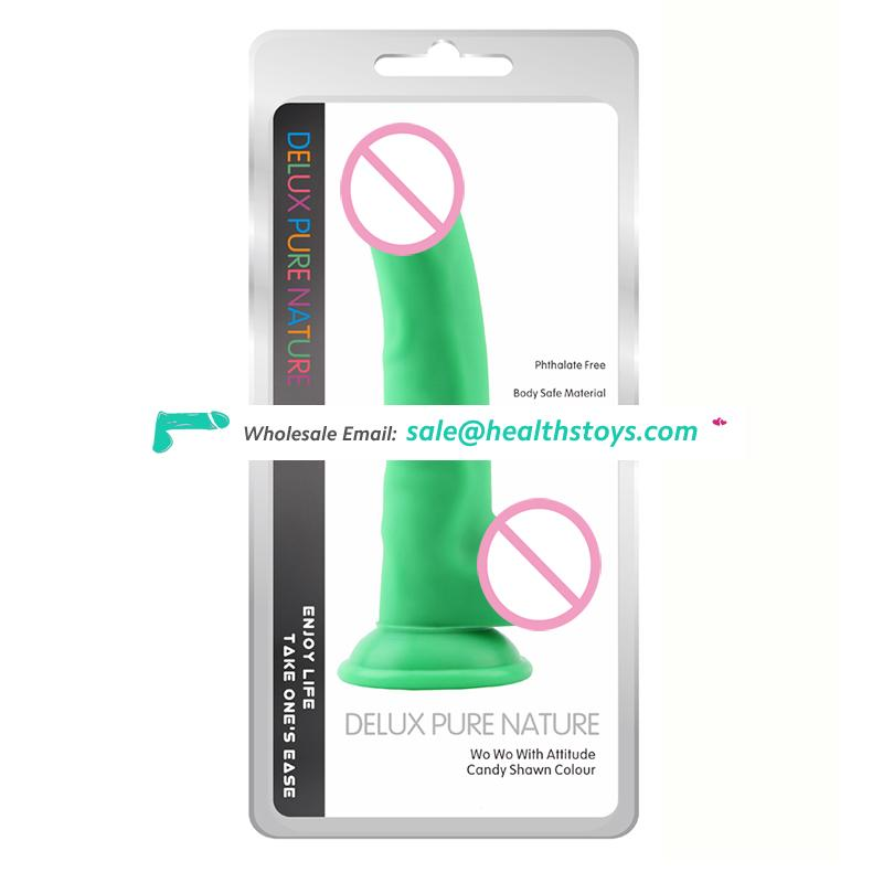 Dropshipping superb quality G spot stimulating vagina sex toys for women pussy 8.5in penis dildo dongs with balls and sucker