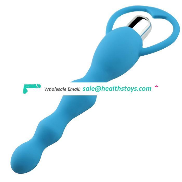Hot Selling Gay Adult Toy Unique Shape Anal Vibrator