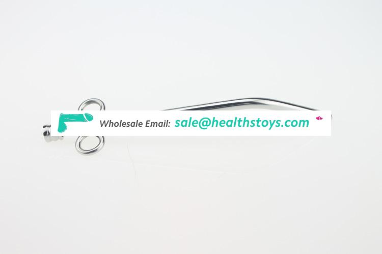 Metal Urethral Sound Penis Plug with Cock Ring Urethral Sounding Sex Toys for Men,Sounding Adult Sex Products