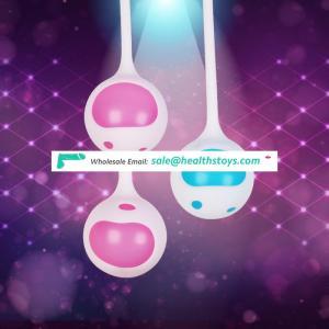 1 Set Medical Silicone Kegel Ball Ben Wa Ball Vagina Tighten Exercise Vaginal Geisha Ball Sex Toys for Female Girl