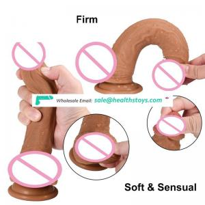 100% Waterproof Penis Pussy Dildo Vibrator for Female and Male