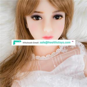 100cm flat chest Lifelike TPE silicone real anime mini small real size sex love doll for men sex  YL-100-16