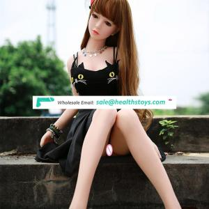 155cm Silicone Realistic Doll For Sex Cute Girl with big Breast and Waist Sex Toy for Sale Real Price Special