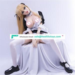 158cm Japanese Life Size Cartoon Female Big Boobs Realistic Sex  young silicone anime mini sex doll for men  YL-158-115