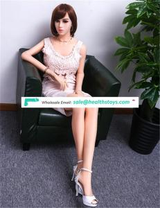 165CM New Big Breast Realistic Sex Toy Girl Full Body Young Silicone Real Hybrid Sex Doll For Men