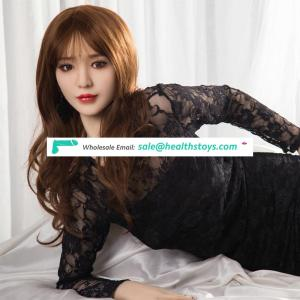 168cm Realistic Full Size Silicone Sex Doll Japanese Girl Doll Men Sex