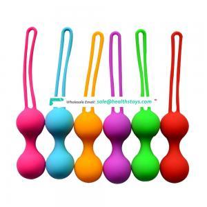 2016 New Arrival Masturbation Ben Wa Balls Sex Toys Mini Kegal Ben Wa Ball Hot Sale Silicone Ben Wa Ball