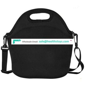 2017 hot sale neoprene insulated lunch tote bag with strap