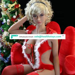 2018 Hot Sale Christmas big breast TPE 165CM Silicone Real Sex Doll