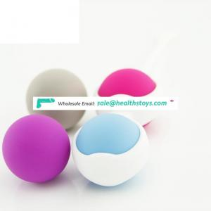 2018 New Designed Silicone Stress Ball For Female Vagina Ke-gal Balls