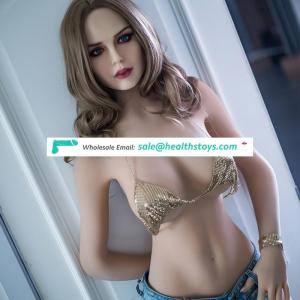 2019 New design TPE  Sex Doll Realistic Oral/real Silicone Vagina Sex beautiful face Toys   adult shemale  sex doll for man