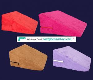 4 Colors Choice Cover Clothes Can Be Changed Sex Position Big Soild Sponge Triangle Pillow