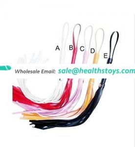 5 Colors Cheapest Factory Price Best Selling Adult Sex Toy 48cm PVC Whip