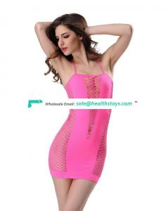 7 Colors High Elasticity Sexy Mesh Transparent Nightwear Bondage Sexy Women Mature Corset