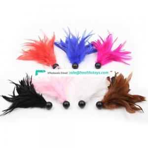 7 Colors Small Cute Toy Flirting Feather Tickler Slapper