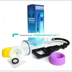 Adult Sex Toy for Man Handsome Up Penis Pump Enlargement Various Penis Vacuum Pump