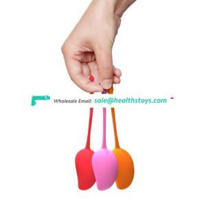 Aixiasia oem kegel weights silicone kegel balls for women Vagina Tighten Training