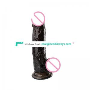 Body-safe TPE Strong Suction Cup Real Male Dildo Female