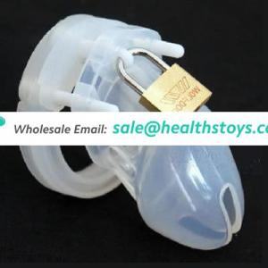 CB6000S Silicone Male Chastity Device Multi-color Cock Cage High Quality