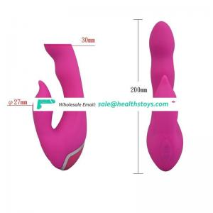 Canvor Woman 10 Speed Silicone Large Double Rabbit Vagina Vibrator