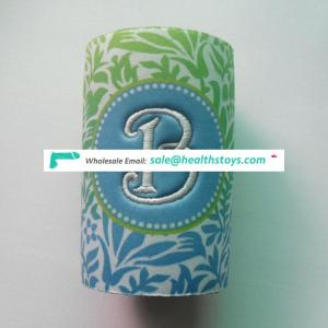 China Supplier sublimation stubby holders holder with bottle opener sbr