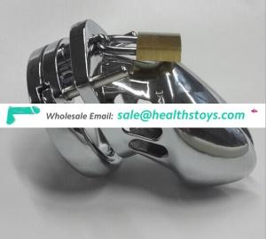 Chrome Metal Male Chastity CB6000S Cock Cage Small Size