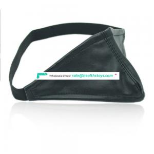 Different Design Cheap Enamel Leather Triangle Contain Nose Cover Sleep Personalized Eye Mask