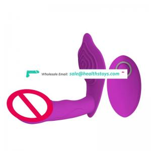 Dildo Vibrator Rod 10 Speed Vibrators Anal Vaginal Massage Sex Toy for Woman G spot Remote Control
