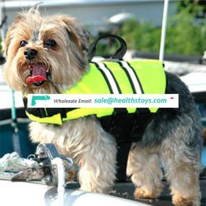Factory direct sale fashionable dog float life jackets
