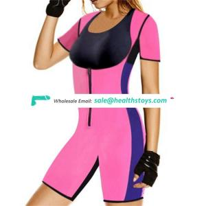 Factory directly sell neoprene waist body vest slimming suits pants material