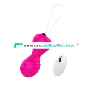 Fast Delivery Body-Safe Silicone Kegel Exercise Device Toy For Men Remote Control Sex Machine