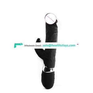 Fast Delivery Custom Logo Electric Rabbit Vibrator For Women Ejaculation Huge Black Dildo