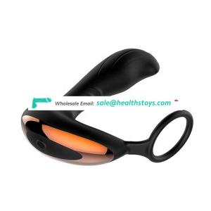 Fast Delivery Soft Silicone Masturbate Sleeve Sexual Toys For Male Vibrating Prostate Massager