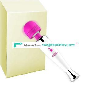 Funny Use Soft Silicone Sex Women Toy Product Masturbator Waterproof Handheld Massager