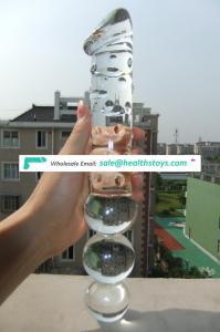 Giant Glass Dildo for Women Large Glass Massager