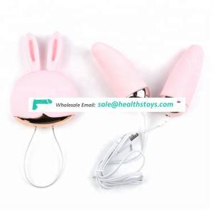 Girl toy silicone vibrating exercise rabbit kegel ball