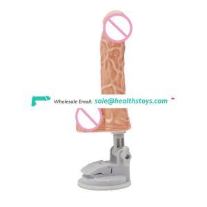 Golden Supplier Top Sale sexy silicone penis vibretor Suction Dildo