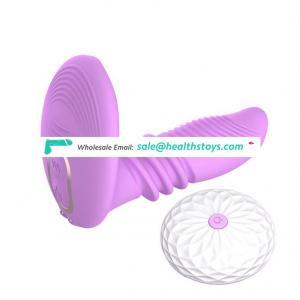 Good Price New Design Silicone Dildo Vibrator Up And Down Men Sextoys