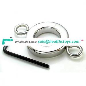 Heavy Duty Steel Cock Ring for Men Cock Chasity
