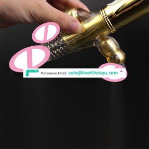 Hot Crystal 3 shock Maker Fun Novelty Funny Vibrating rods Masturbation massage equipment Gadgets Couples flirting Sex Toys