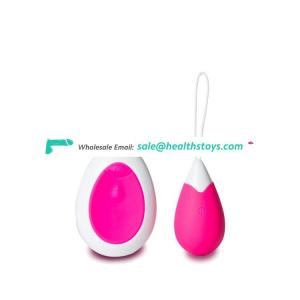 Hot sale  Vibration Waterproof Silicone Remote Control  Clitoral and G-Spot Couple Vibrator vibe