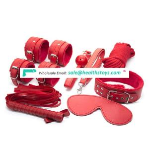 Hot selling high quality sexy bdsm bondage restraints kit for couple