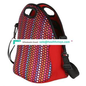 Hot selling neoprene lunch cooler bag for kids with strap